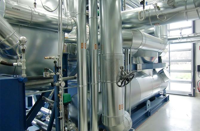 Prozesswärme / Thermalöl